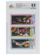 1980-81 Topps Larry Bird Julius Erving Magic Johnson #6 Rookie Card BGS 8.5 - $10,863.99
