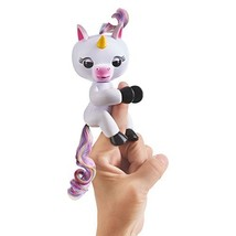 WowWee Fingerlings Baby Unicorn - Gigi White with Rainbow Mane and Tail ... - $25.68