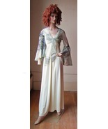 Silk Negligee Gown - $30.00