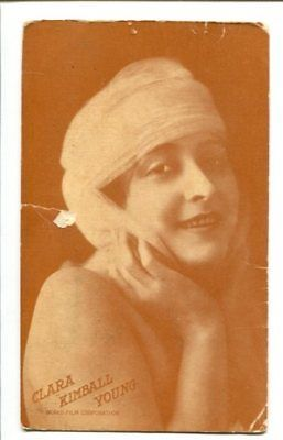Primary image for CLARA KIMBALL YOUNG-SILENT STARLET-POST CARD-1910 G