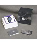 "STUNNING LADIES MOVADO BOLD MB.01.3.34.6205 DIAMOND WATCH 6.5"" LONG A10639 - $249.95"