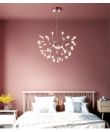 Heracleum Reproduction Chandelier LED Light Suspension Ceiling Lamp Ligh... - $188.49