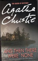 And Then There Were None By Agatha Christie - $4.95