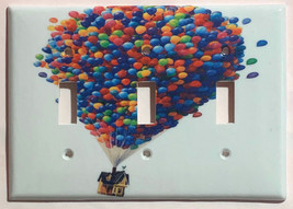 Up Flying Balloon house Light Switch Outlet duplex wall Cover Plate Home Decor image 2