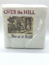 """Vintage 1986 Over the Hill Napkins 50 Count Birthday Party 10"""" 2PB - $3.99"""