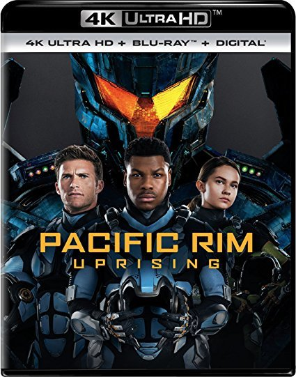 Pacific Rim Uprising [4K Ultra HD+Blu-ray+Digital] (2018)