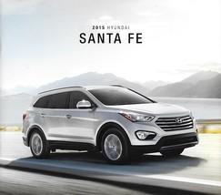 2015 Hyundai SANTA FE and SPORT sales brochure catalog US 15 GLS Limited... - $6.00