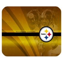 Mouse Pad Professional American Football The Pittsburgh Steelers Logo Fo... - $76,34 MXN