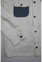 AMERICAN RAG White 4 Pocket Front Button Long Sleeve Shirt Jacket 2XL XXL image 2