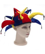 Halloween Masquerade Clown Hat Adult Child Carnival Funny Party Circus C... - $15.99