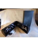 3 piece LEED'S Wine Portable Corkscrew Set in Round Leather Case w/ ORIG... - $11.88