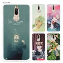 BINYEAE bts bangtan boys Taehyung RUN Hard Clear Case Cover for Huawei M... - $12.93