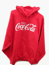 Coca-Cola Red Hoodie Hooded Sweatshirt Enjoy Coca-Cola 2X 2XL XXL - BRAN... - $39.60