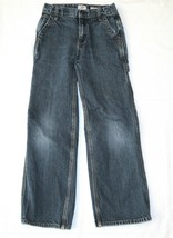 Oshkosh 12 Slim Jeans Medium Wash Adjustable Waist Boys Carpenter Loop 12S 24x24 - $7.59