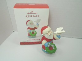 Hallmark Keepsake 2014  A Visit From Santa #6 In The Series - $13.09