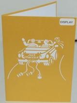 Lovepop LP1217 Wedding Car Just Married Pop Up Card White Envelope Cellophane image 2
