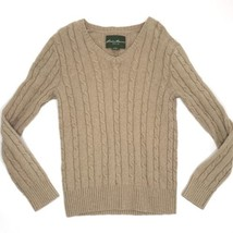 Eddie Bauer Sweater Women Small V Neck Long Sleeve Top - $15.00