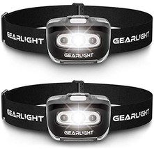 GearLight LED Headlamp Flashlight S500 [2 Pack] - Running, Camping, and Outdoor  - $24.00
