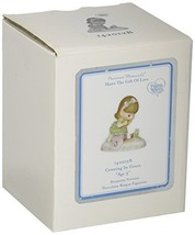 Precious Moments,  Growing In Grace, Age 3, Bisque Porcelain Figurine, B... - $34.56