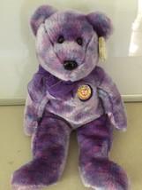 TY Ty-dye Clubby IV Teddy Bear Beanie Buddies 2001 Stuffed plush - $6.23