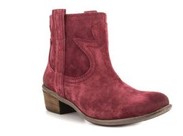 Lucky Brand Terra Suede Boots Size 6 Med NEW Biking Red - $29.00