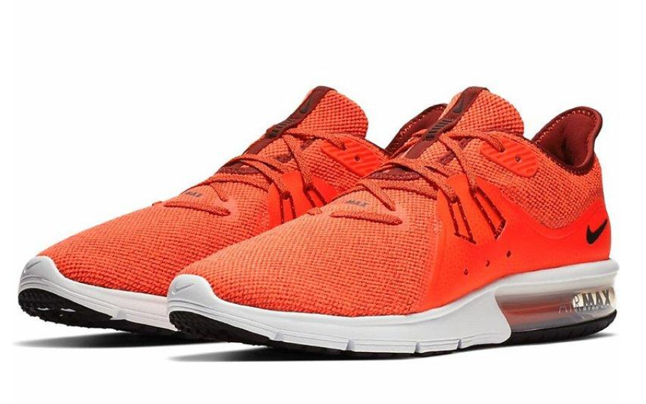 low priced d93cd 69a0d Nike Men s Air Max Sequent 3 921694 600 Men Running Shoes Team Red Black