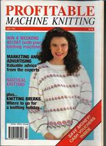 Profitable Machine Knitting Jul 1991 Magazine UK Patterns Articles to Ma... - $5.99