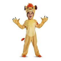 Kion Deluxe Toddler The Lion Guard Disney Costume, Small/2T - $27.60