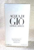 Giorgio Armani ACQUA DI GIO Pour Homme Spray 3.4 oz. EDT Sealed Box - $46.99