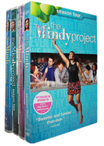 The Mindy Project The Complete Seasons 1-4 DVD Box Set 13 Disc Free Shipping