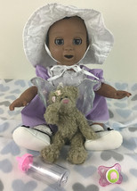 Luvabella Doll Baby Interactive A/A Ethnic Girl Talking Movement Accesso... - $123.70