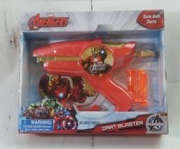 New Marvel Avengers Dart Blaster Gun Avengers Initiative Assemble Iron Man - $10.39