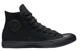 Converse Chuck Taylor All Star HI M3310 Sneakers Black Mono 4.5Mens / 6.5Womens - $44.99