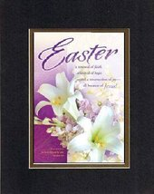 For Easter - Easter a renewal of faith . . . 8 x 10 Inches Biblical/Reli... - $11.14