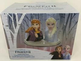 NEW Disney's Frozen 2 Ceramic Salt Pepper Shakers Anna Elsa - $28.21