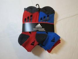 Adidas Jeunesse Matelassé Climalite Tache Résistant Chausettes Bas Coupe... - $21.30