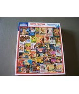 White Mountain Puzzles Movie Posters 1000 Piece Complete VGC - $12.00