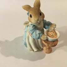 My Blushing Bunnies A Mom Like you is a Blessing Enesco 1995 Priscilla H... - $11.68