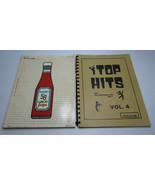 2 Vintage Music Song Book Lyrics HANSEN 58 Great Pops G. Harrison & Top ... - $25.00