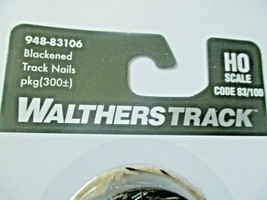 Walthers Track # 948-83106 Blacken Track Nails 300+/per pack Code 83/100 (HO) image 2