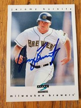 Jeromy Burnitz ~ Mil Brewers ~ 97 Score ~ Signed Autographed Baseball Card - $2.93