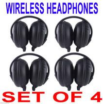 4 NEW GM GMC Yukon Denali Wireless DVD Car Headphones - $88.31