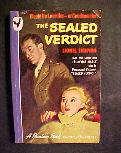 The sealed verdict paperback