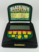 Radica Black Jack 21 Regular Or Face Up Electronic Casino Game Handheld Model 21 - $9.59