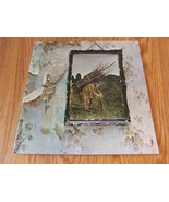 Led Zeppelin IV Zoso Lp Columbia NY Press lyric Sheet Inner No Bar Code - $21.99