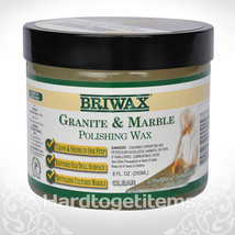 BRIWAX MARBLE AND GRANITE POLISHING WAX -  8oz - $19.20