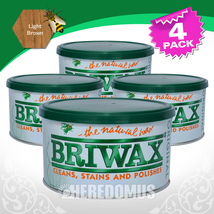 BRIWAX Original Furniture Wax 1lb Tin :: Select Your Own Color - $44.47