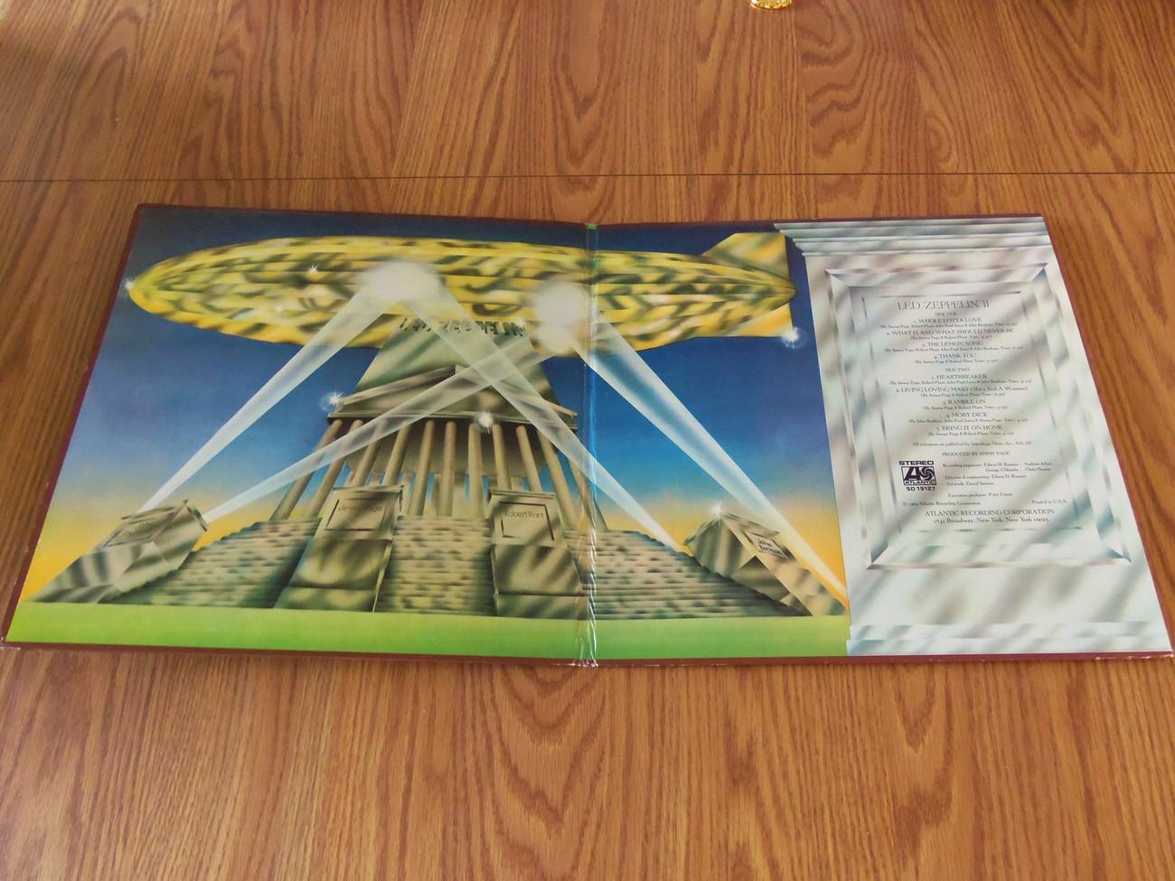 Led Zeppelin II Atlantic SD 19127 Lp Whole Lotta Love The Lemon Song No Bar Code