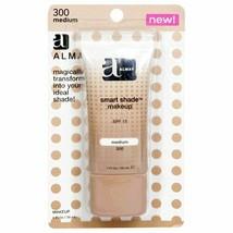 2PK Almay Smart Shade Makeup with SPF 15, Medium 300, 1 Ounce - $9.69