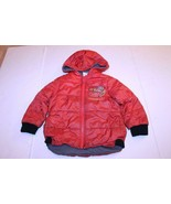 Youth Lightning McQueen CARS XS (4) Hooded Winter Coat (Red) Disney - $9.49